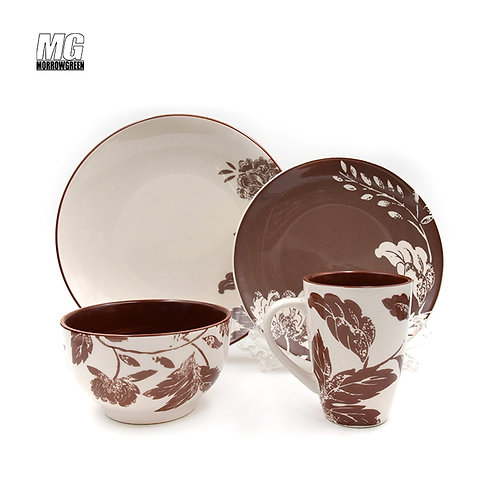 Export Data and Price of stoneware dinner sets  under HS Code 691110