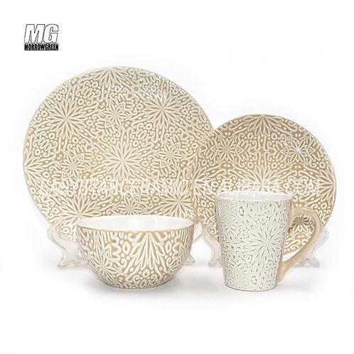 Chinese supplier ceramic stoneware dinnerware sets