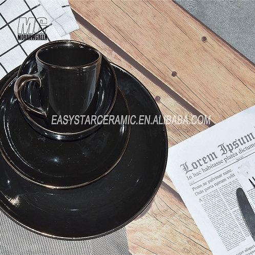 Henan yisida Kitchen Dinnerware Set Plates Bowls Mugs Ceramic Dinner Set