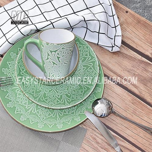 Chinese supplier ceramic stoneware modern dinnerware sets