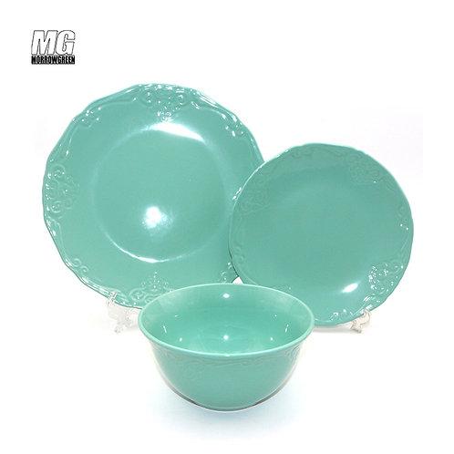 China wholesaler ceramic stoneware dinnerware set dinner settableware
