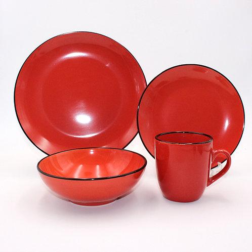 Ceramic stoneware dinnerware sets
