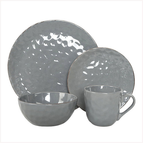 Import from China cheap price embossed golden rim ceramic dinnerware sets