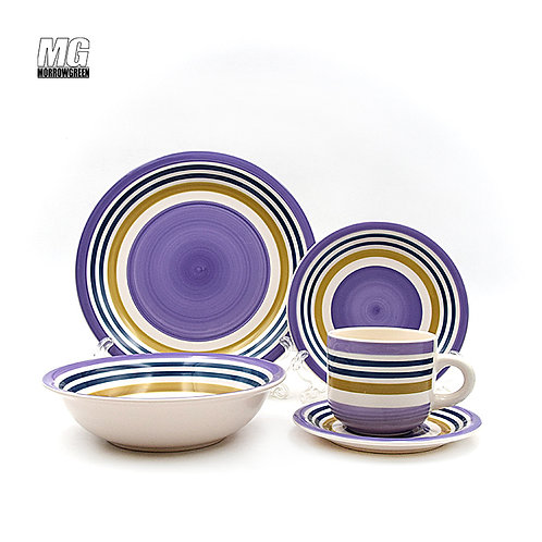 Chinese exporter ceramic hand-painted dinnerware sets