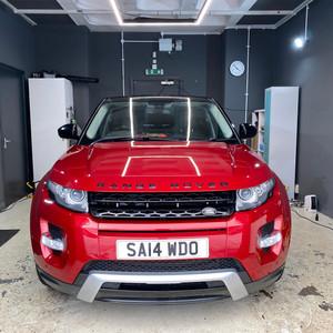 Range Rover polishing