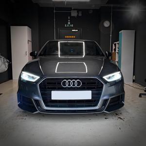 Audi Car machine polish