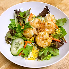 Wok Seared Shrimp Salad