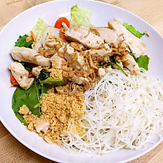 Cool Rice Noodle Salad