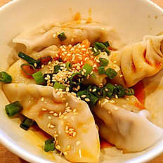 Pork Dumpling in Chili Sauce (5pcs)