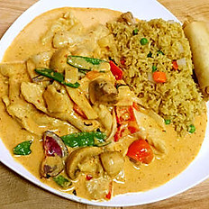 L23. Red Curry Chicken