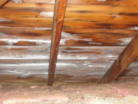 How to deal with frost in the attic