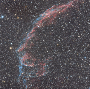 Les Grandes Dentelles du Cygne (NGC 6992)
