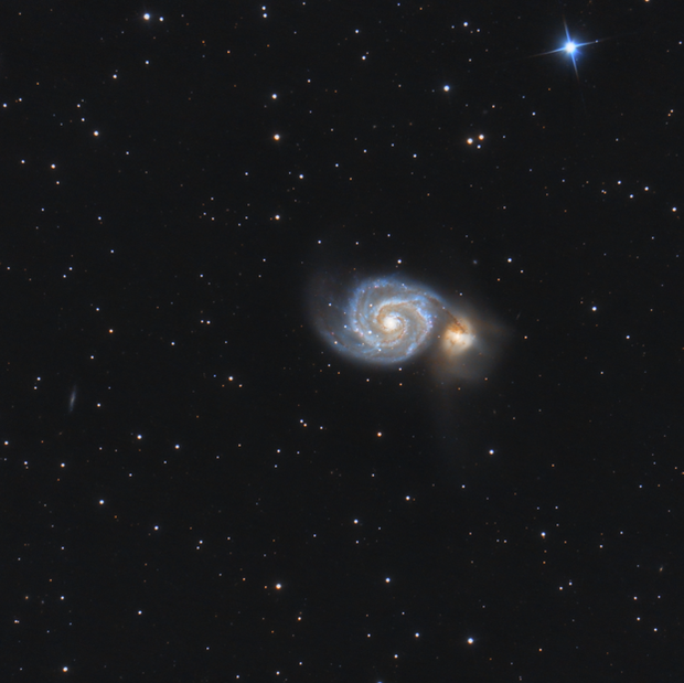 La Galaxie du Tourbillon (M51)