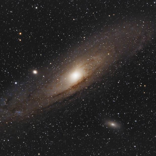La Galaxie d'Andromède (M31)