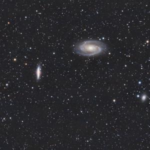 La Galaxie de Bode & du Cigare (M81 M82)