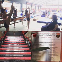 Seleção Feminina de Ginástica Artística treina no Flamengo