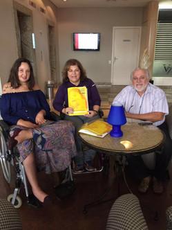 Georgette Vidor visita a Secretaria Especial da Pessoa com Deficiência de Curitiba