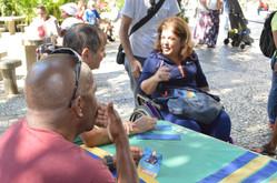 Georgette Vidor percorre ruas do Catete, Flamengo e Larangeiras