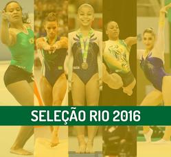 CBG anuncia Seleções Brasileiras de Ginástica Artística para os Jogos Olímpicos