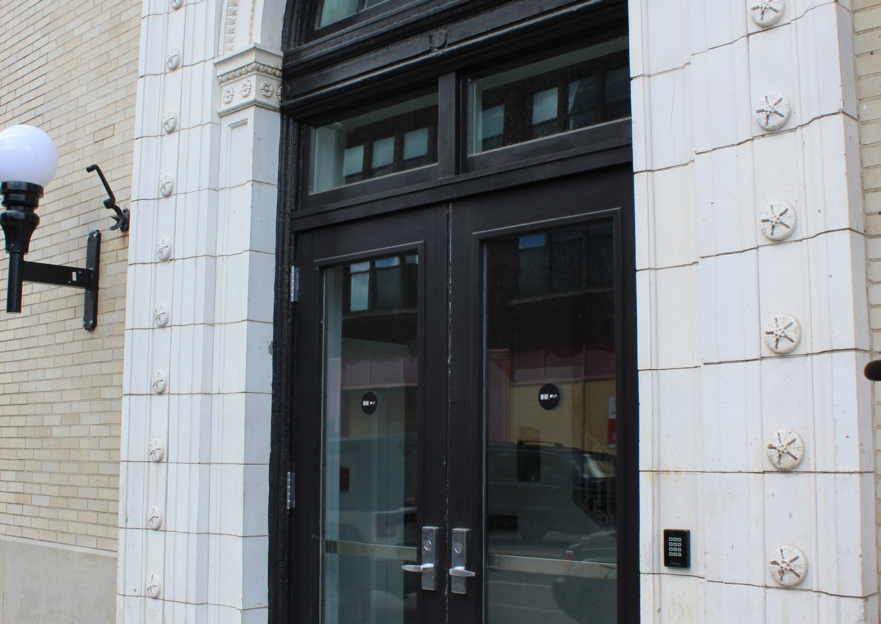 Traditional Double Door with Transoms