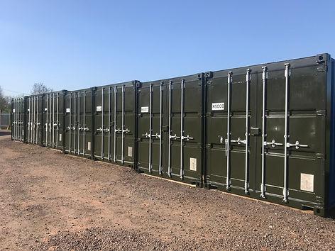 Container Storage at Nightingales Storage