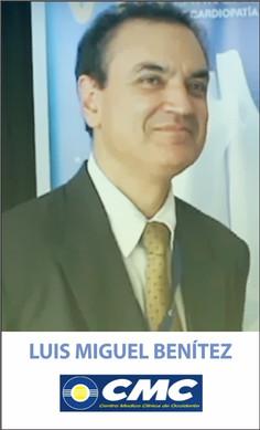 LUIS MIGUEL BENITEZ, MD, MSc, FSCCT