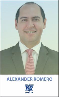 ALEXANDER ROMERO, MD.
