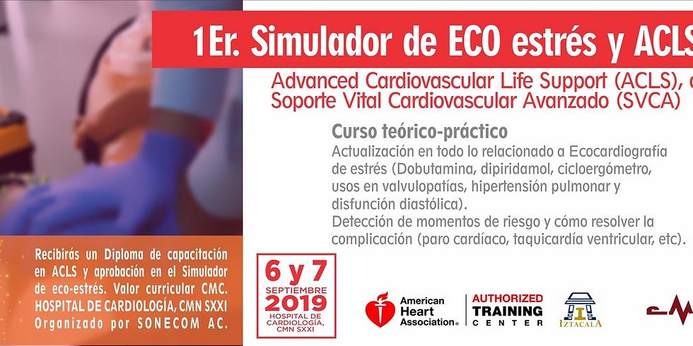 1Er. Simulador de ECO estrés y ACLS