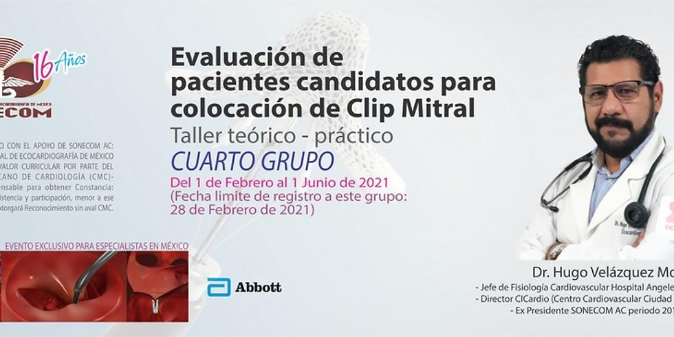 Evaluación de pacientes candidatos para colocación de Clip Mitral