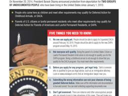 Consumer Alert on DAPA and DACA