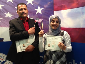 Happy New U.S. Citizens (BLF Clients)