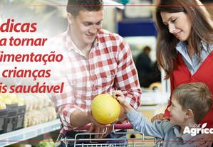 10 dicas para tornar a alimentação das crianças mais saudável