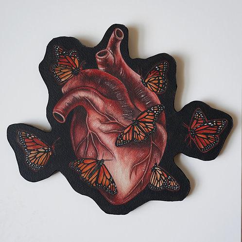 Hear Butterflies - Original Watercolor Painting