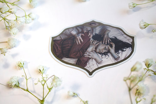 """Holographic Sticker of """"The Remaining"""""""
