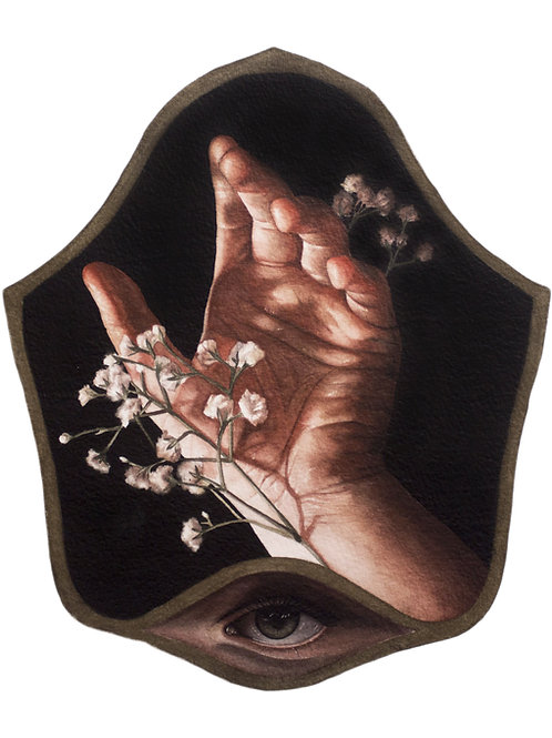 8x10 Archival Print 'Filler-Flower (IV)'
