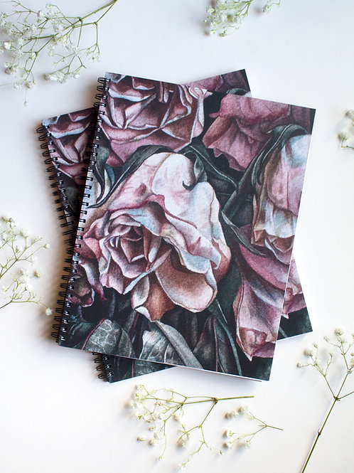 Spiral Bound 8.5 x 11 Sketchbook