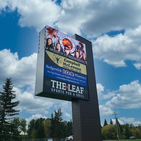 The Leaf Sports Pub & Grill