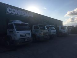 Flota camiones Conteman