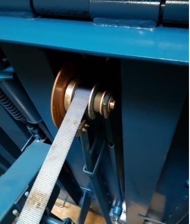 Sistema de freno de rampa mecánica.