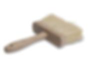 masonry brush for cleanin mortar off stone