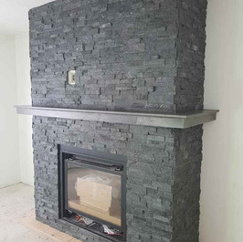 Black Quartzite Ledgestone