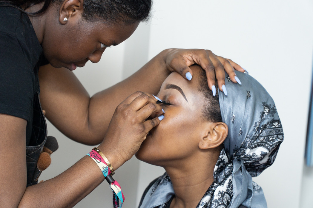 The make up time