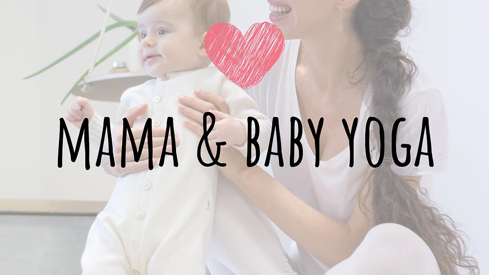 cursus mama & baby yoga start 3 maart