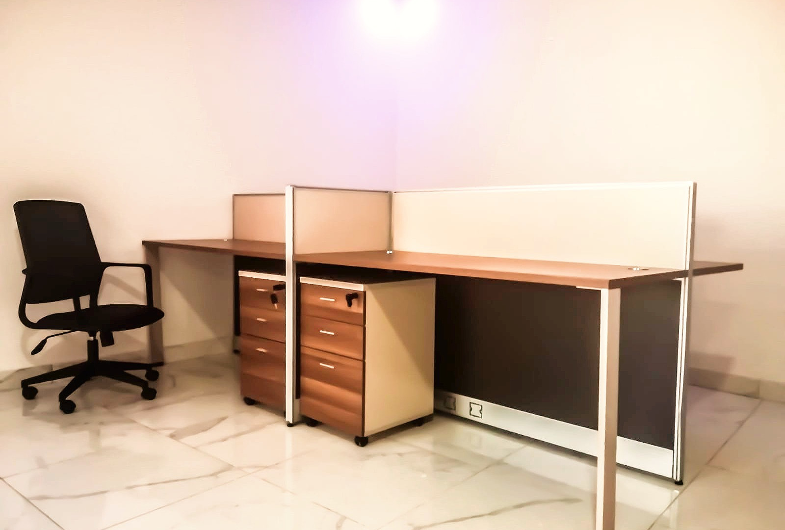 Bureau partagé moderne