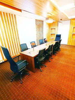 Salle de réunion à Dakar