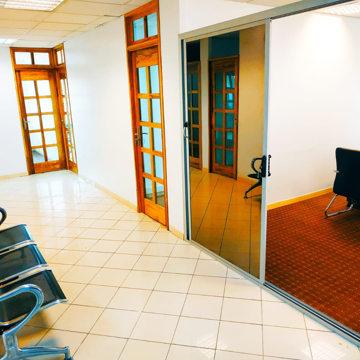 Espace de travail modulable à Dakar