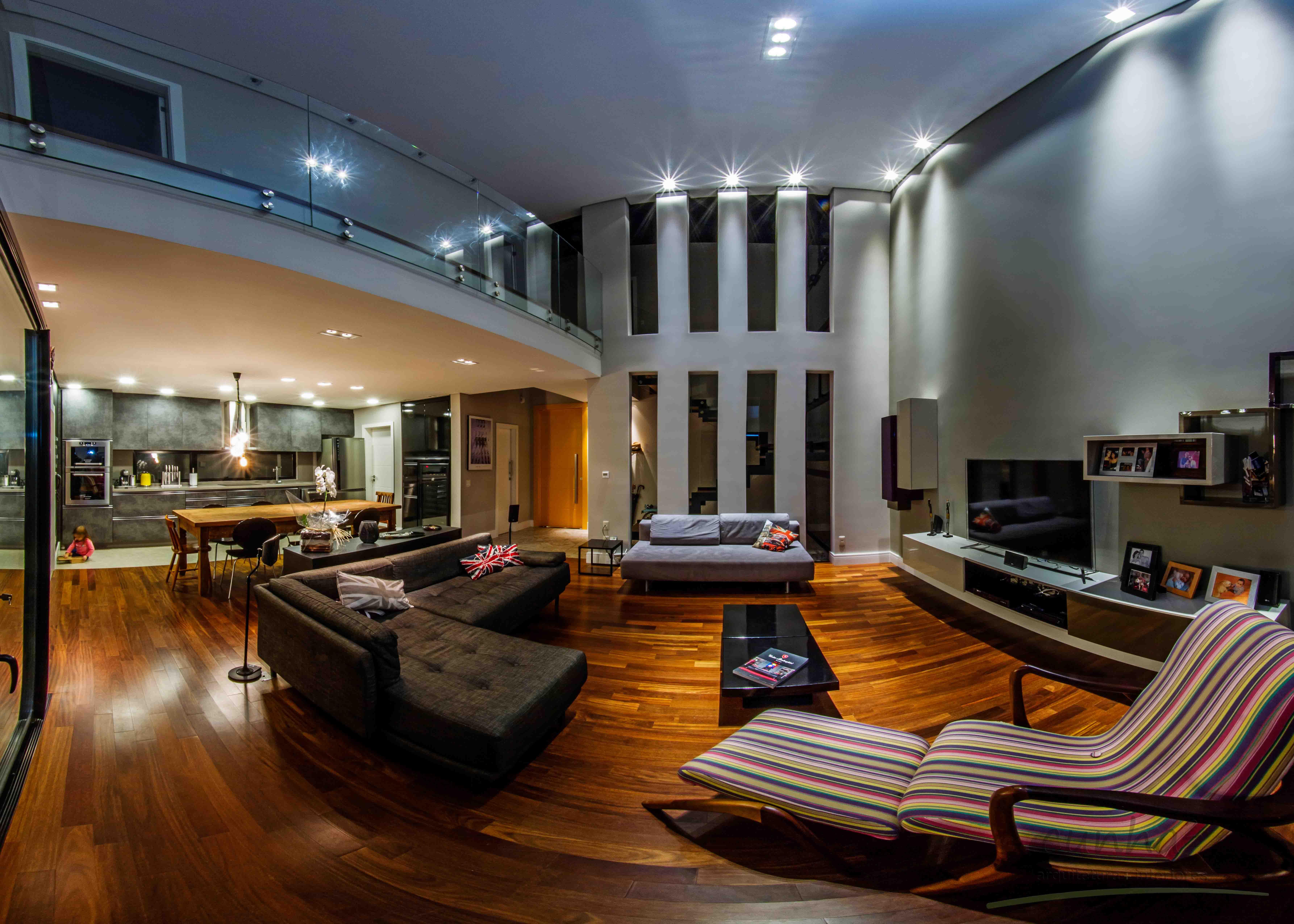 sala/cozinha integradas
