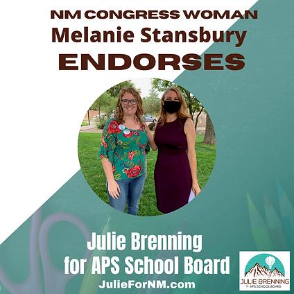 Melanie Endorsement.png