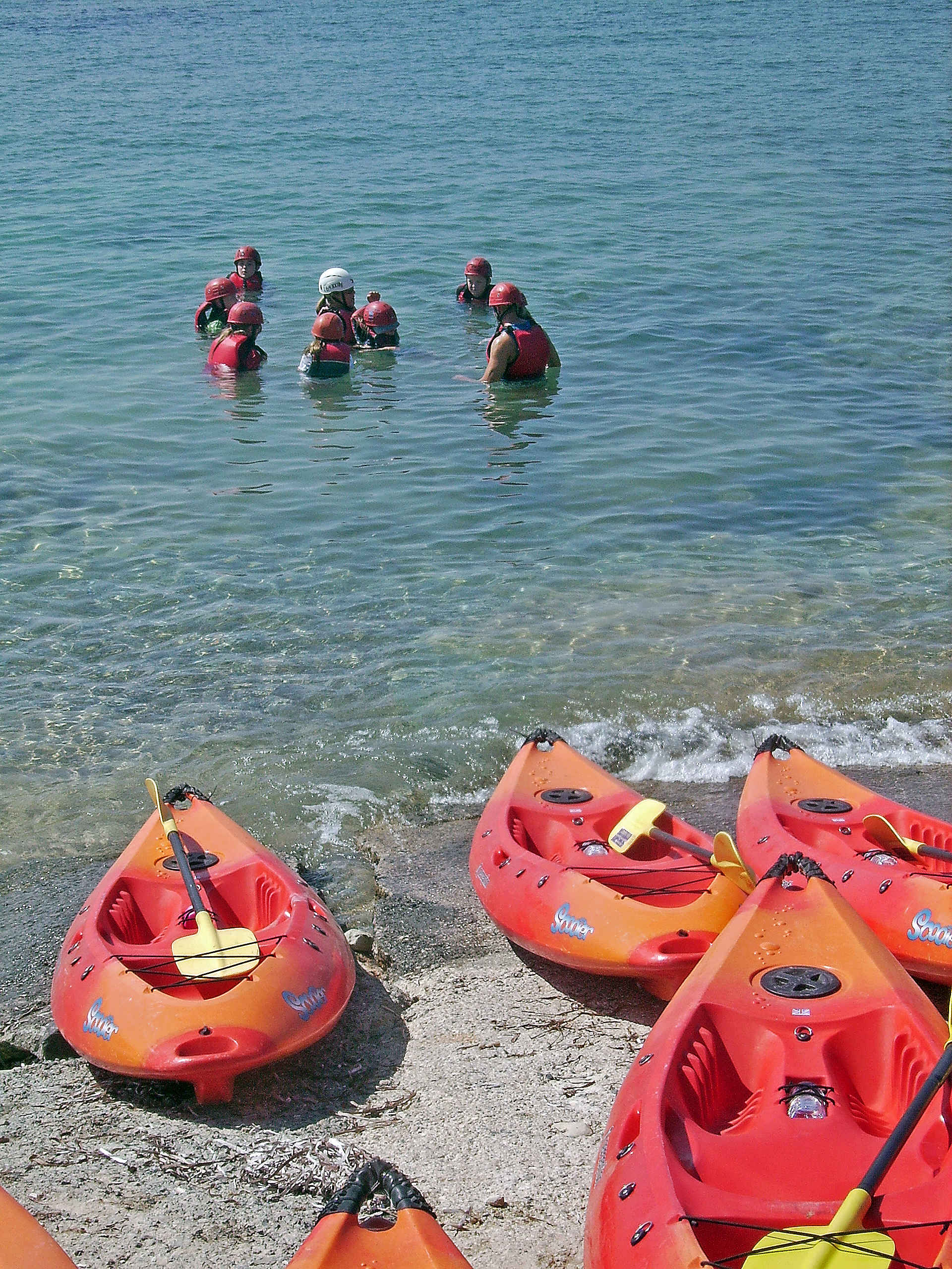 Sea kayaking in Cyprus