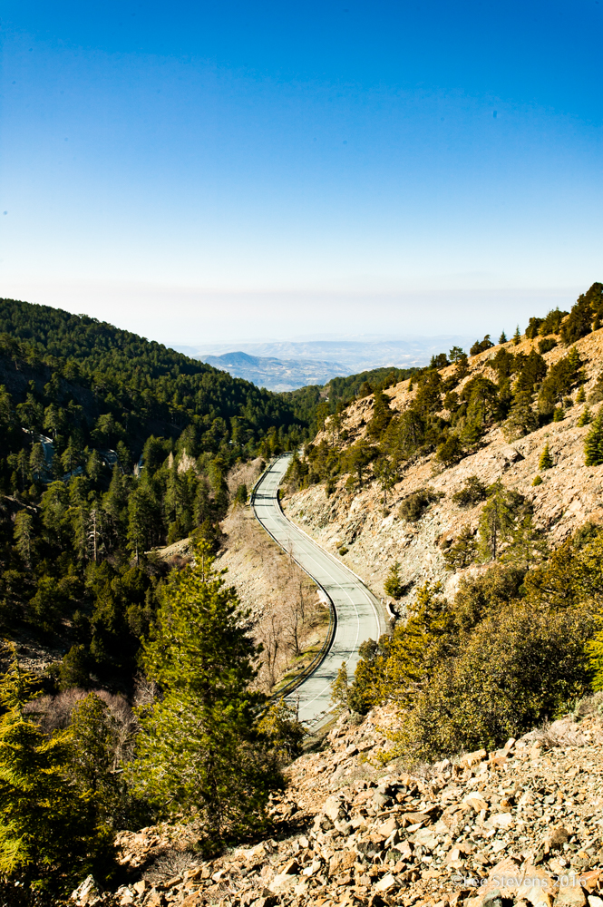 Trekking in the Troodos Mountains